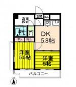 2DKタイプ(キッチン)